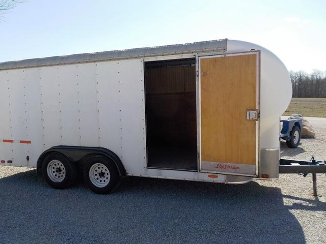1990 Slip Stream Mirage 16T Enclosed Cargo Trailer **USED**