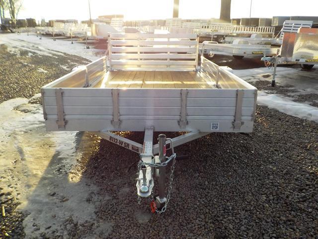 2020 Aluma 8112 W-SR - BT Utility Trailer