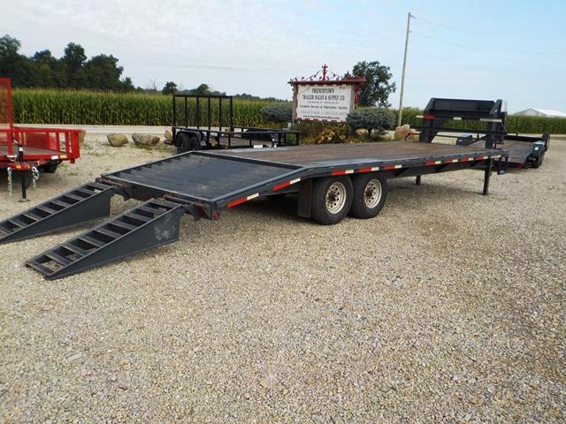 2010 Coyote GN 20' + 5' SW Equipment Trailer **USED**
