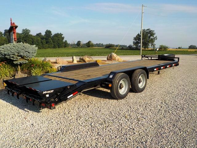 2020 PJ Trailers H5B24S2BT50 HD LoPro Equipment Trailer