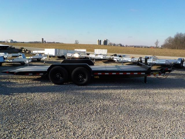 2019 Big Tex Trailers 14TL - 20BK 16' + 4' Equipment Trailer