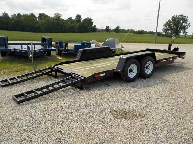 2001 Millennium Trailers AV6 F18P Equipment Trailer