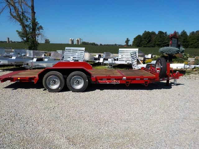 2018 Trailerman Trailers Inc. CTT 7416 N14 16' + 4' Tilt Equipment Trailer