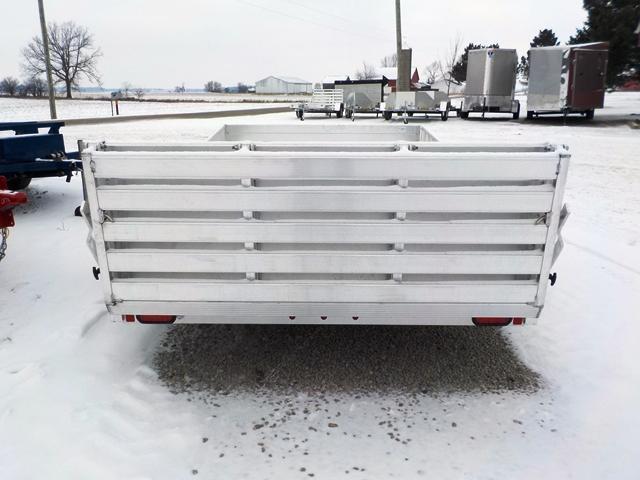 2019 Aluma 8112 SR BT Utility Trailer