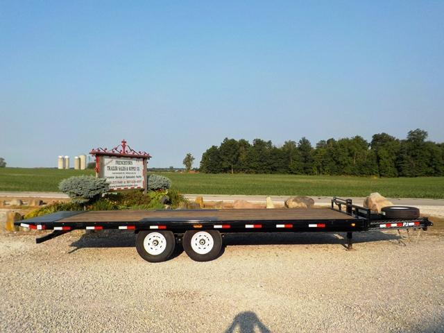 2020 PJ Trailers T8J2292BSTORY TILT Equipment Trailer