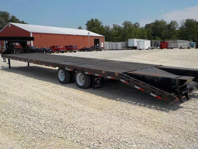 2014 Big Tex Trailers 25GN 35BK +5 Equipment Trailer **used**