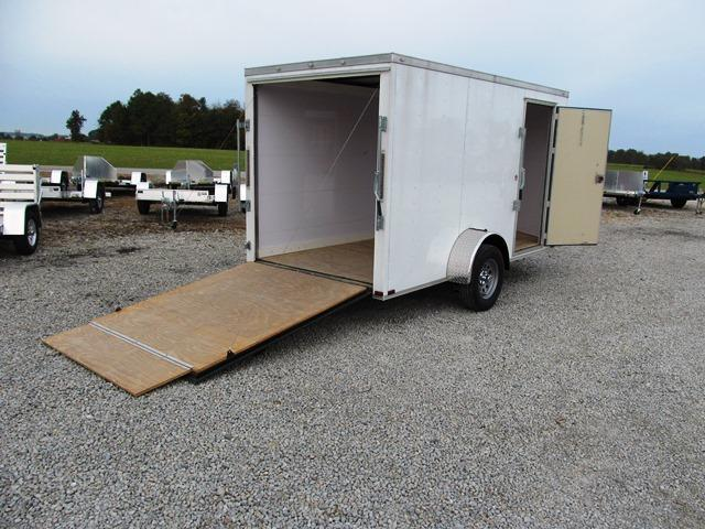 2017 Spartan SP 6X12 SA Enclosed Cargo Trailer **USED**