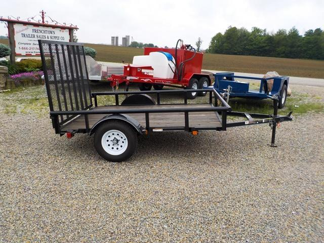 2017 Carry-On 6X8GW2KPT Utility Trailer