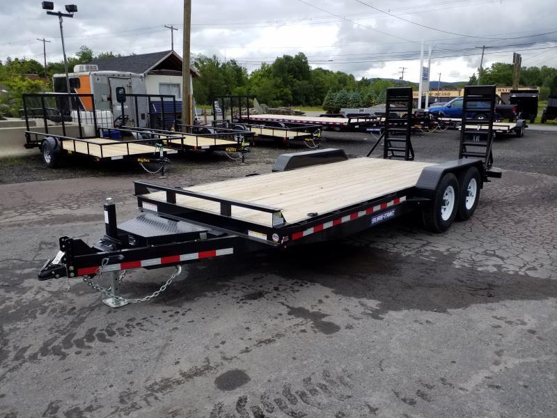 2019 Sure-Trac 18 14K TOOL BOX Equipment Trailer