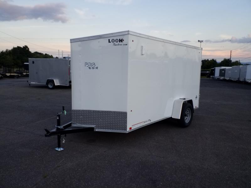 2020 Look Trailers STLC 6X12 RAMP DOOR Enclosed Cargo Trailer