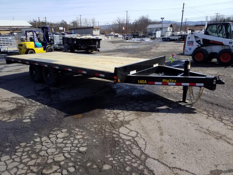 2019 Big Tex Trailers 14OA-20 14K Flatbed Trailer