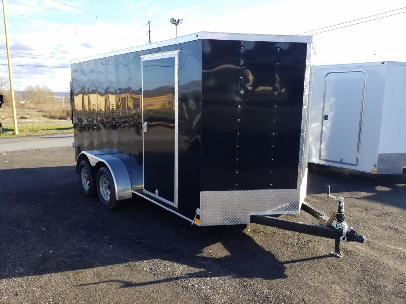 2018 Haulmark HMVG 7X14 BARN DOORS Enclosed Cargo Trailer