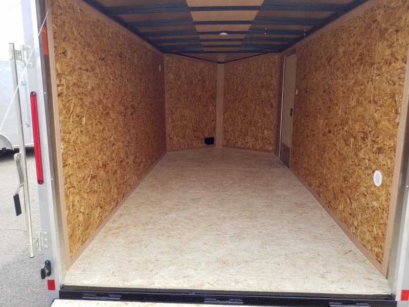 2020 Look Trailers STLC 7X14 RAMP DOOR Enclosed Cargo Trailer