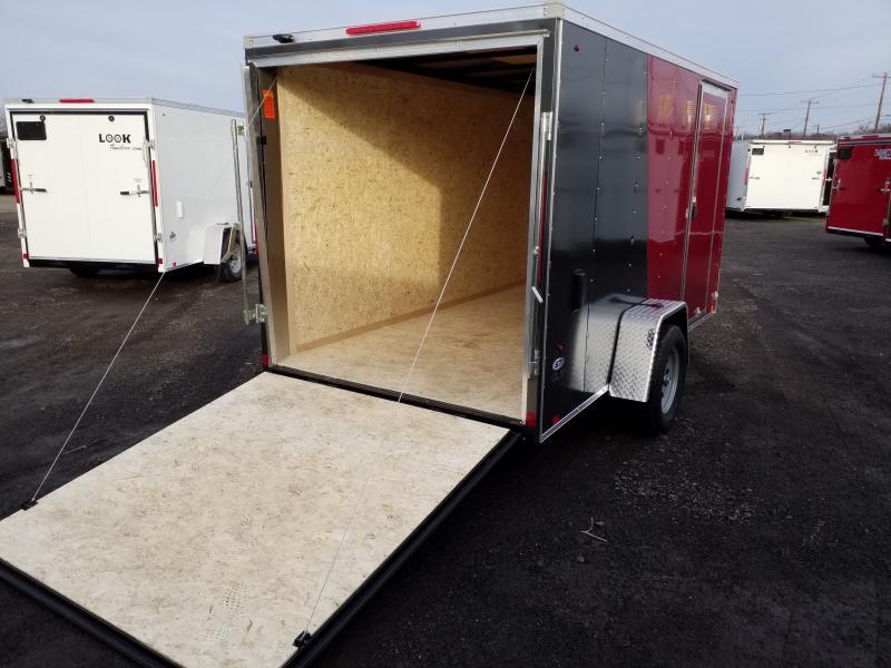 2019 Look Trailers STLC 6X12 RAMP DOOR Enclosed Cargo Trailer