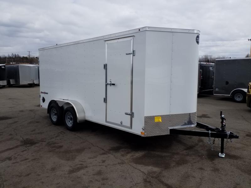 2019 Wells Cargo FT 7X16 BARN DOORS Enclosed Cargo Trailer