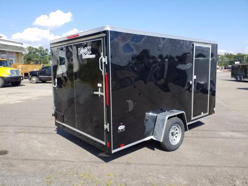 2020 Look Trailers STLC 7X12 RAMP DOOR Enclosed Cargo Trailer