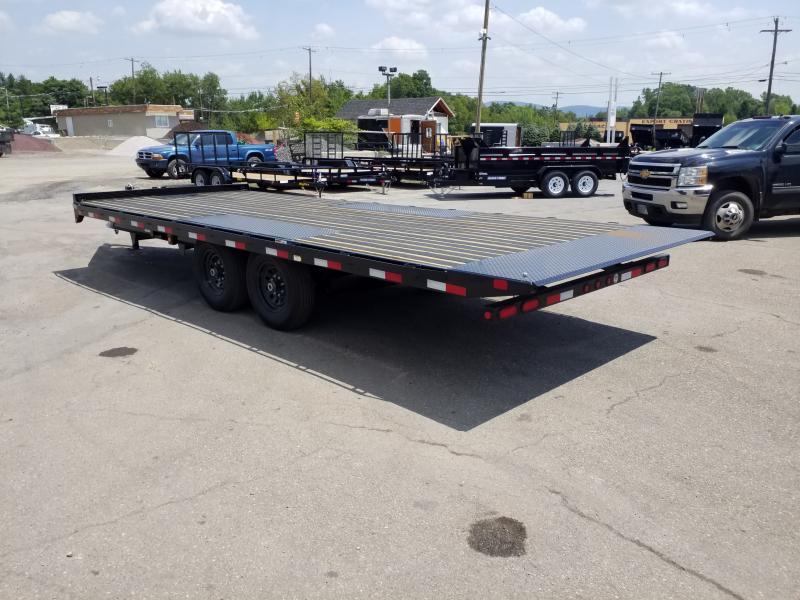 2020 Big Tex Trailers 14OT-22 14K POWER TILT Flatbed Trailer