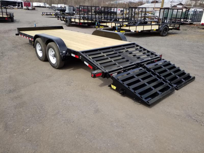 2017 Big Tex Trailers 10ET-18 MEGA RAMPS Equipment Trailer