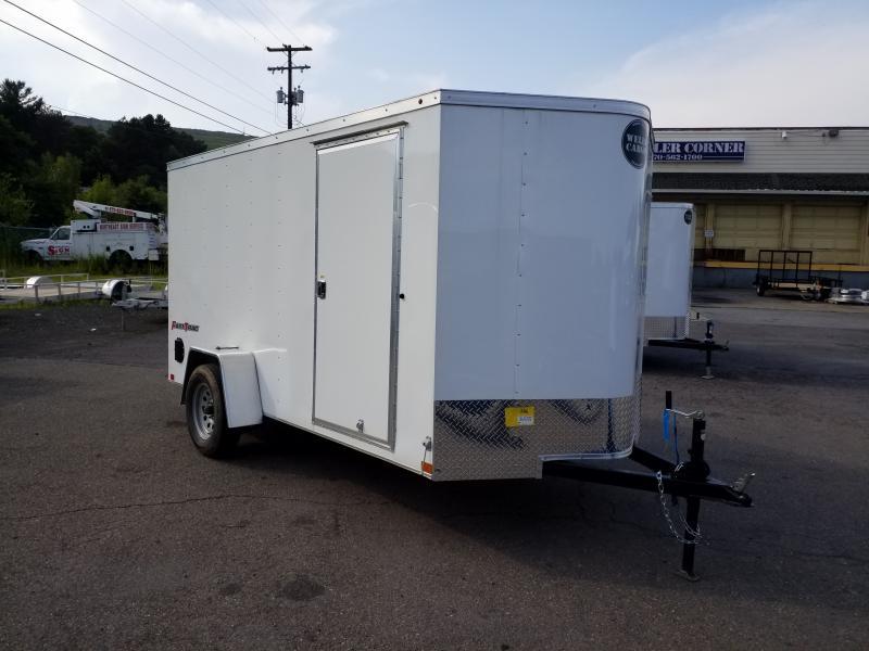 2019 Wells Cargo FT 6X12 RAMP DOOR Enclosed Cargo Trailer