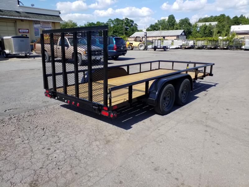 2020 Big Tex Trailers 60PI-16 77X16 6K Utility Trailer