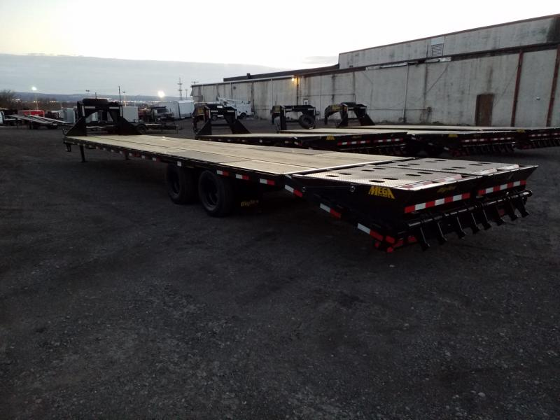 2019 Big Tex Trailers 22GN-35-5 MEGA RAMPS Flatbed Trailer
