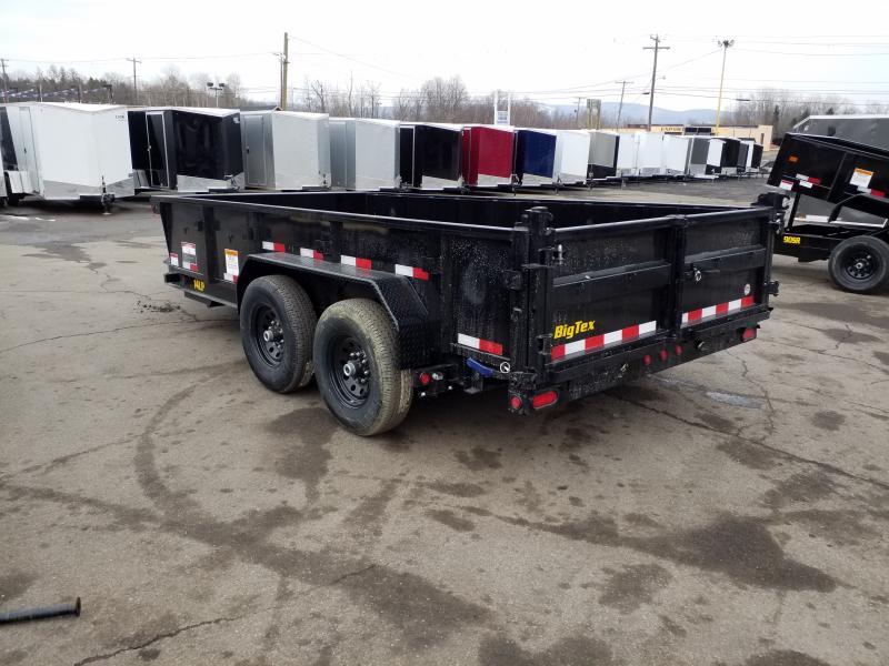 2019 Big Tex Trailers 14LP 7X14 14K LOW PRO RAMPS  Dump Trailer