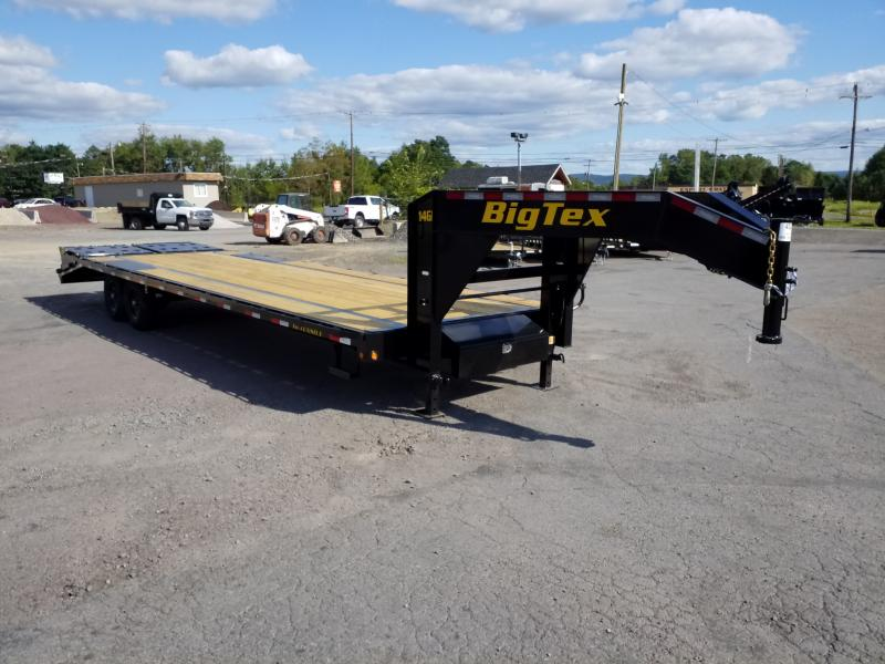 2020 Big Tex Trailers 14GN-25-5 MEGA RAMPS Flatbed Trailer