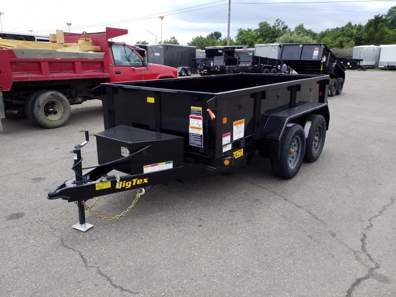 2020 Big Tex Trailers 70SR 5X10 7K Dump Trailer