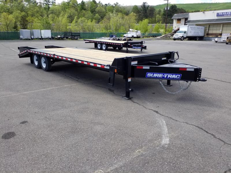 2019 Sure-Trac 20-5 DECKOVER Flatbed Trailer