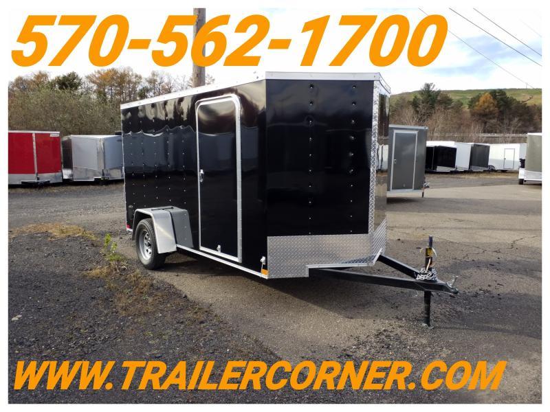 2019 Wells Cargo WCVG 6X12 RAMP DOOR Enclosed Cargo Trailer