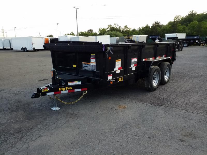 2020 Big Tex Trailers 14LX 7X14 14K RAMPS Dump Trailer