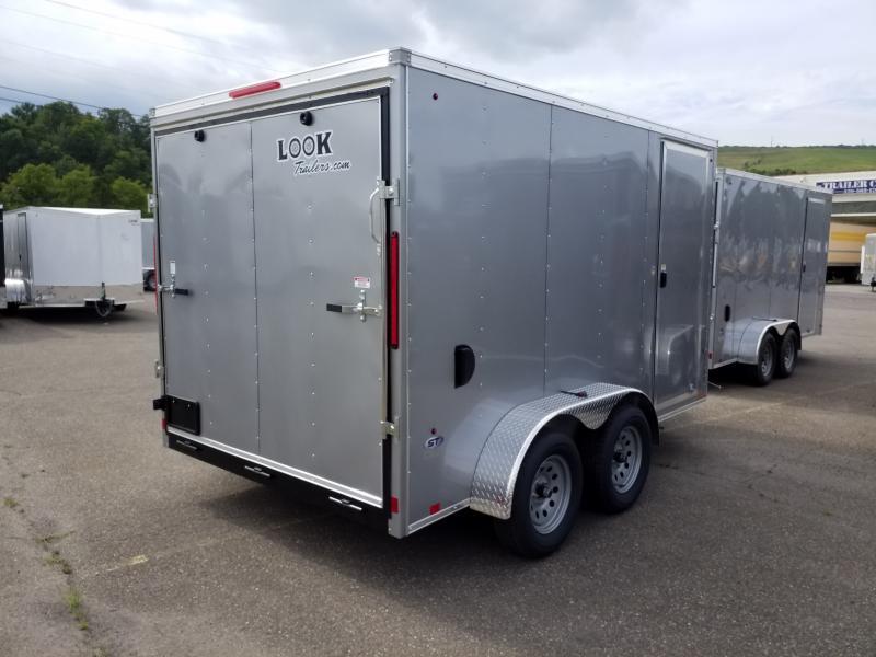 2020 Look Trailers STLC 7X12 7K RAMP DOOR Enclosed Cargo Trailer