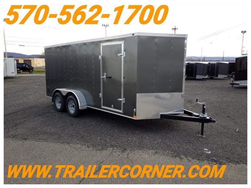 2019 Wells Cargo WCVG 7X16 RAMP DOOR Enclosed Cargo Trailer