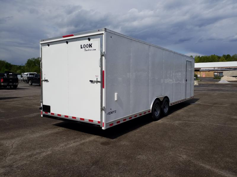 2020 Look Trailers ILRT 8.5X28 12K LOADED Car / Racing Trailer