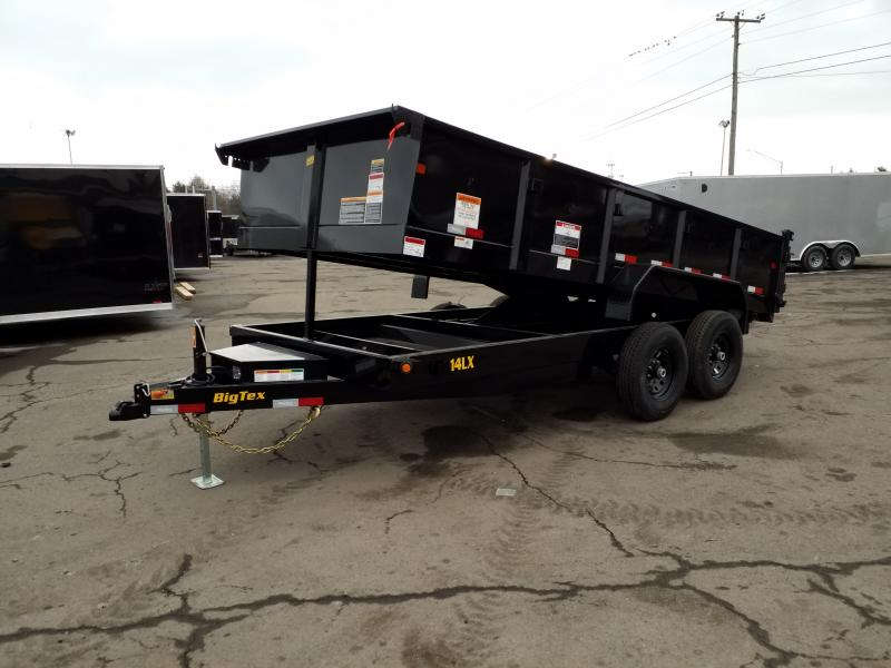 2019 Big Tex Trailers 14LX 7X16 14K RAMPS Dump Trailer