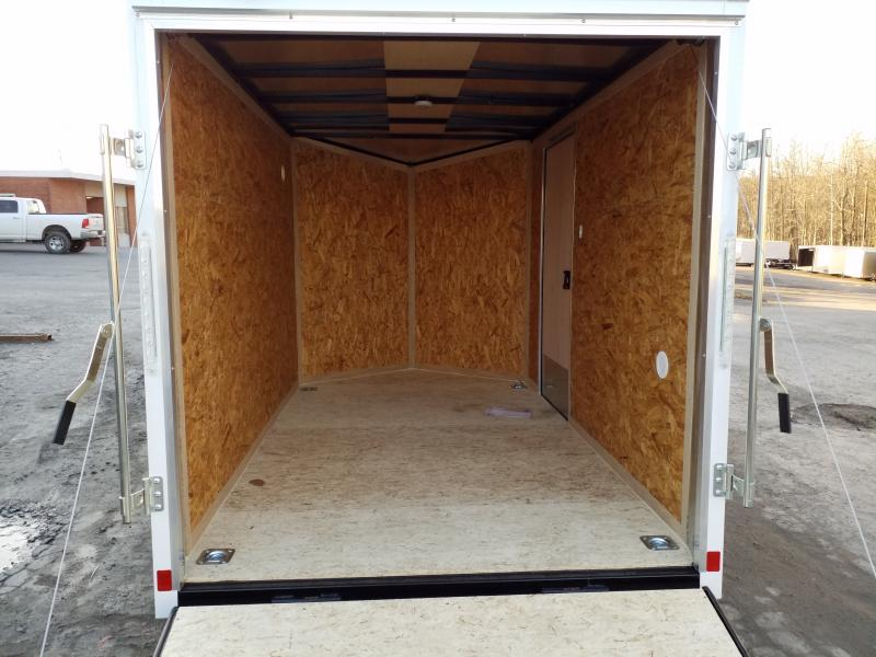 2018 Look Trailers STLC 6X10 JACKS RAMP Enclosed Cargo Trailer