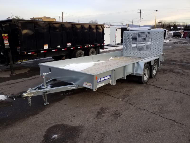 2018 Sure-Trac 7 x 16 GALVANIZED  7K GVWR