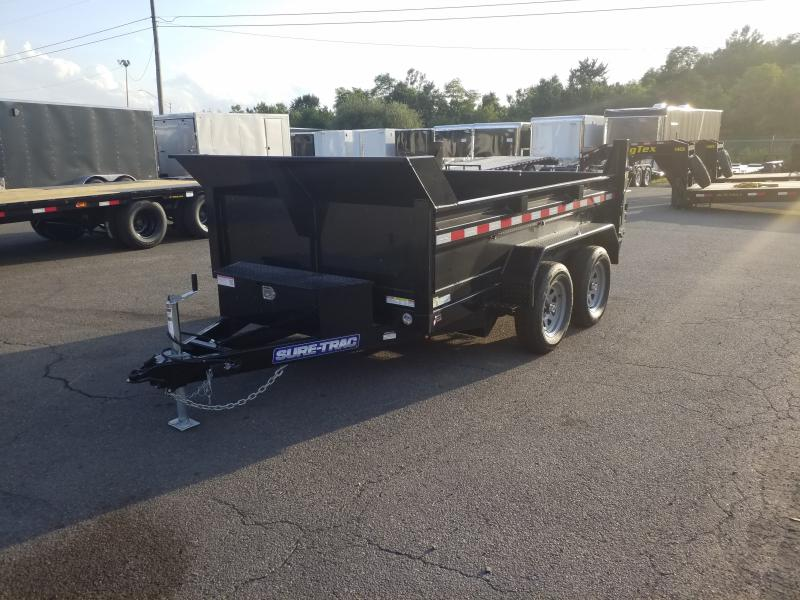 2019 Sure-Trac 6X10 7K RAMPS Dump Trailer
