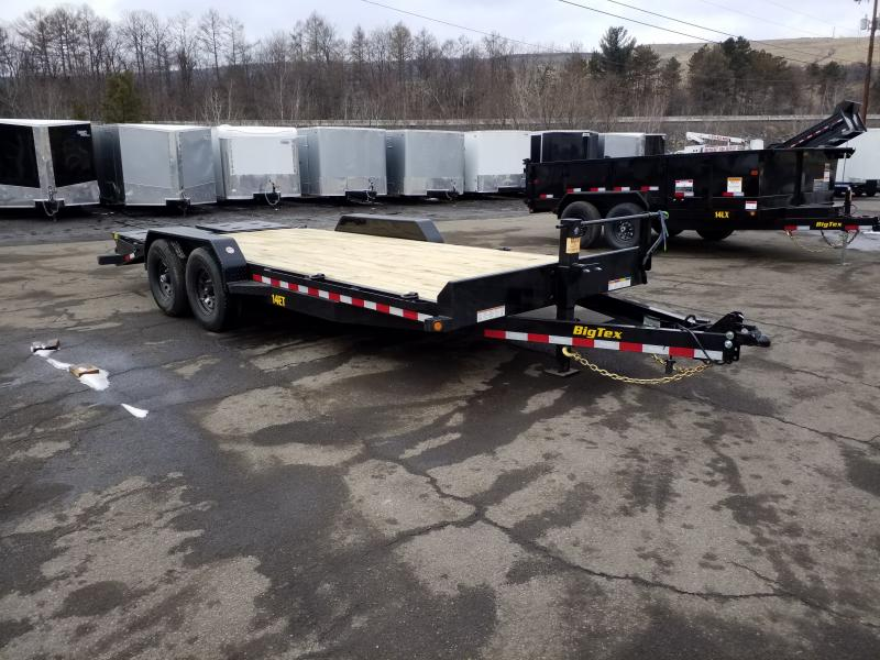 2019 Big Tex Trailers 14ET-20 MEGA RAMPS Equipment Trailer