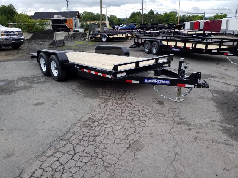 2019 Sure-Trac 18FT 14K TILT Equipment Trailer