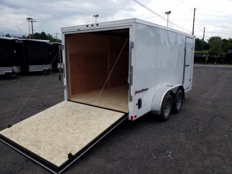 2019 Wells Cargo FT 7X14 REAR RAMP Enclosed Cargo Trailer