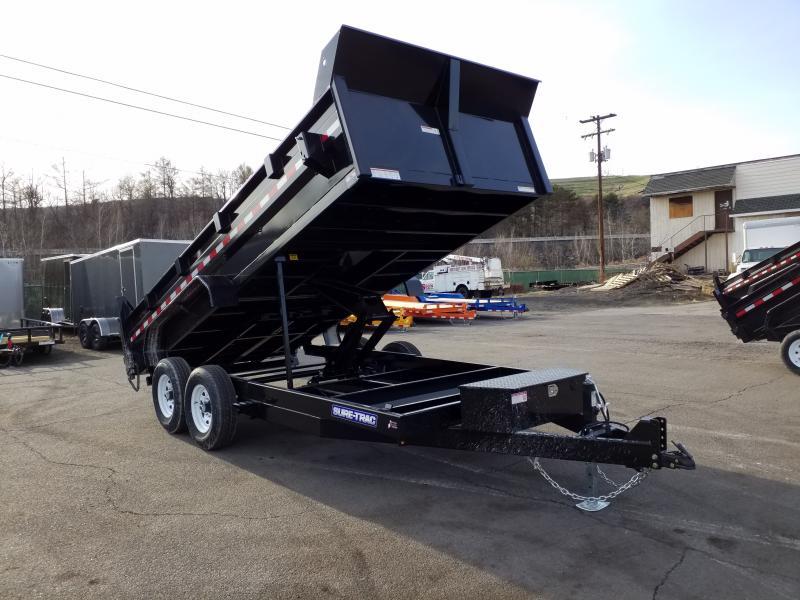 2019 Sure-Trac 7X16 14K SCISSOR Dump Trailer
