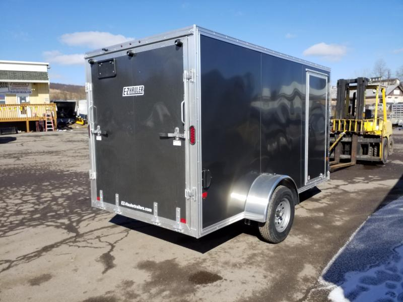 2019 Mission EZEC 6X12 ALUMINUM Enclosed Cargo Trailer