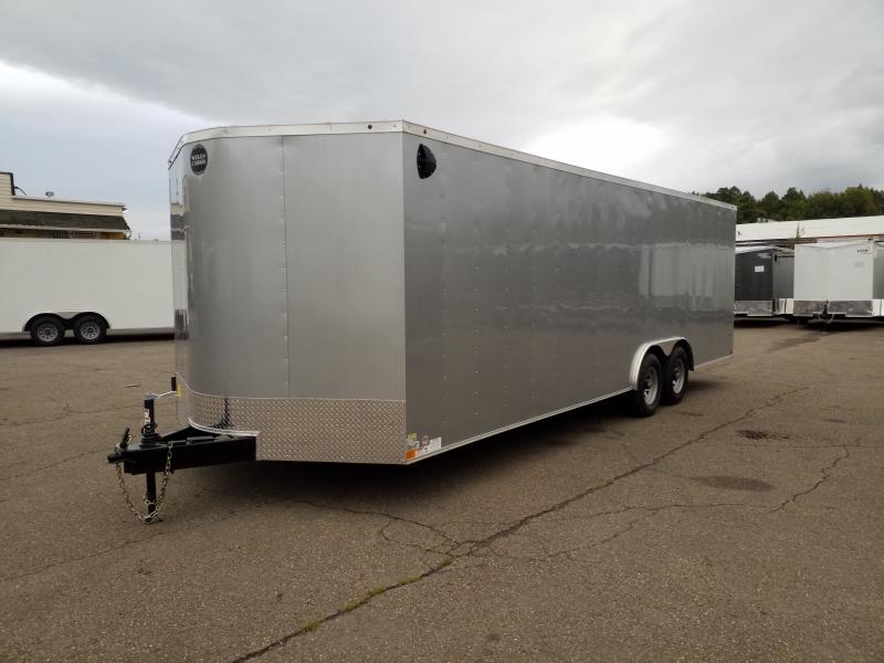 2019 Wells Cargo FT 8.5X24 10K Enclosed Cargo Trailer