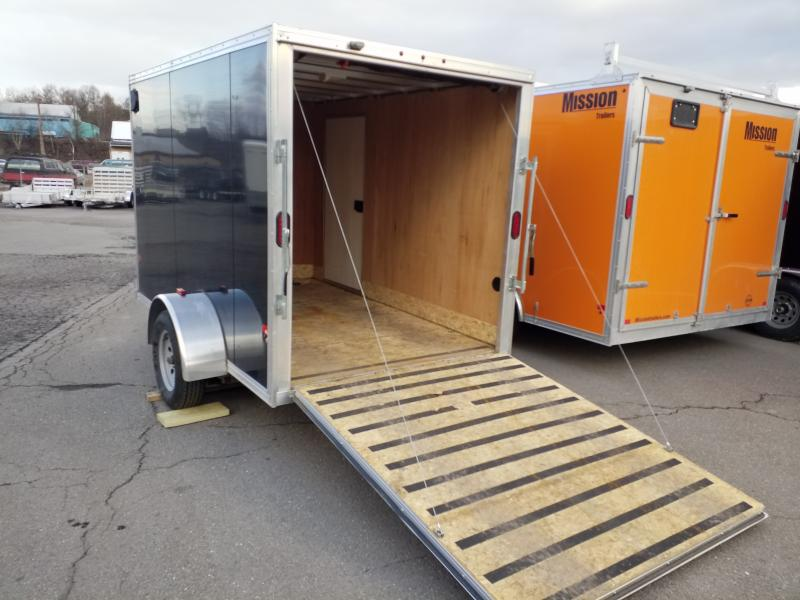 2015 Mission USED 6X10 ALL ALUMINUM Enclosed Cargo Trailer