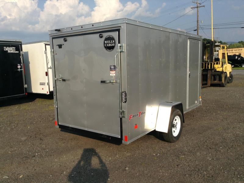 2018 Wells Cargo FT 6X12 RAMP Enclosed Trailer