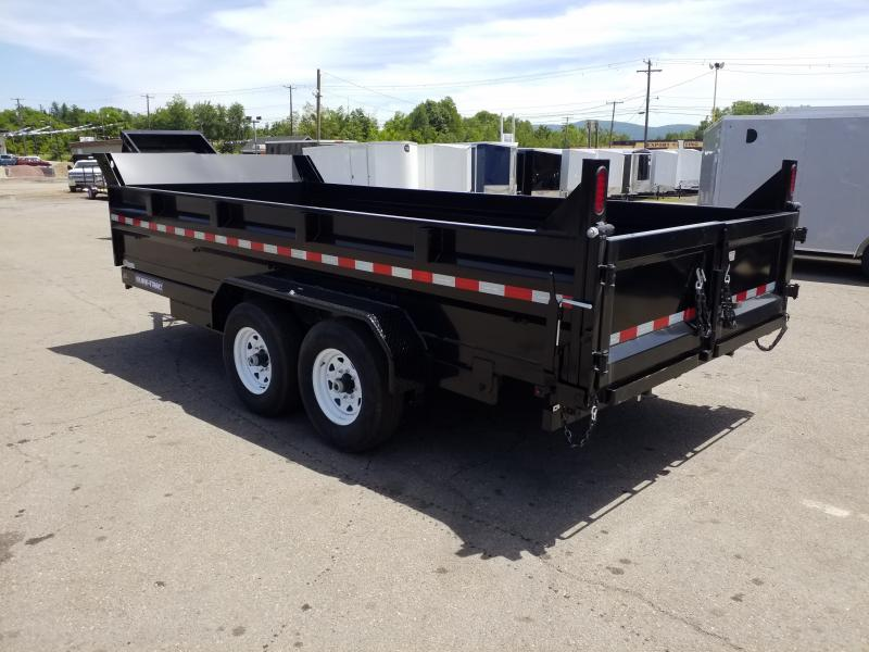 2019 Sure-Trac 7X16 14K SCISSOR-RAMPS Dump Trailer