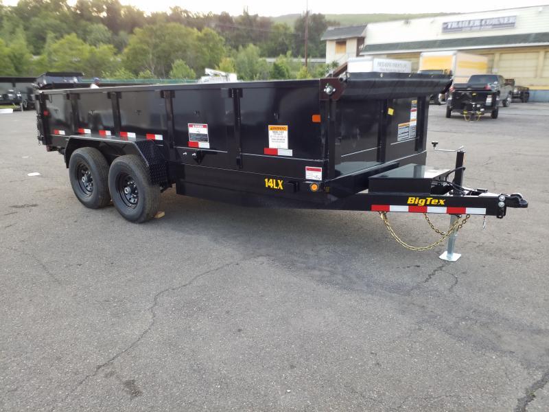 2020 Big Tex Trailers 14LX 7X16 14K RAMPS Dump Trailer