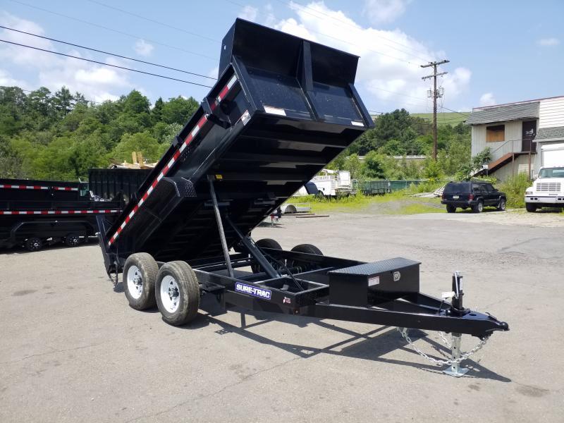 2019 Sure-Trac 6X12 10K RAMPS Dump Trailer