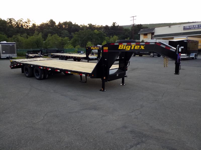 2020 Big Tex Trailers 22GN-20-5 MEGA RAMPS Flatbed Trailer